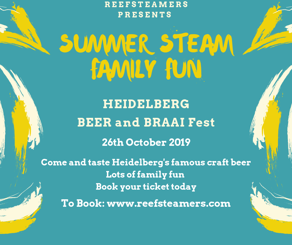 1.st Heidelberg Beer and Braai Fest Train